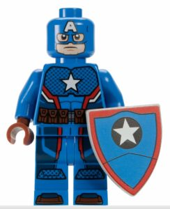lego marvel minifigures captain america