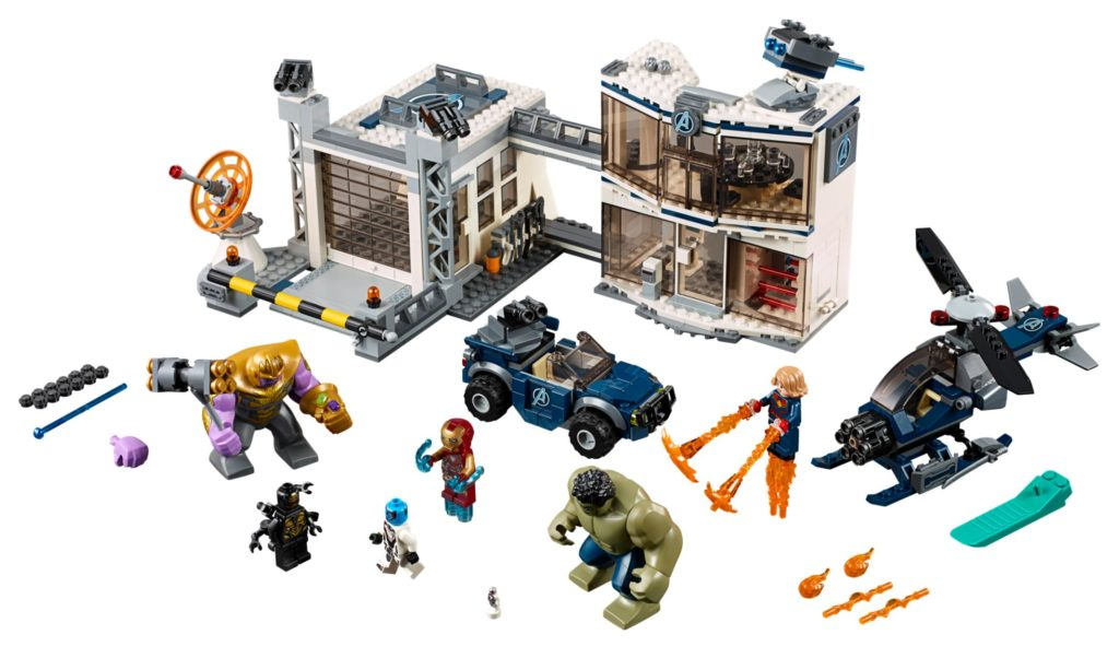 Avengers Compound Battle (set 76131)