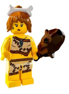 history of collectible minifigures: the first woman