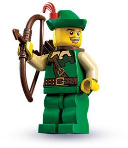 lego forest man