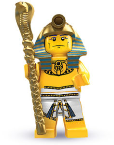 history of collectible minifigures: ancient egypt