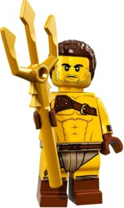 history of collectible minifigures: roman gladiator