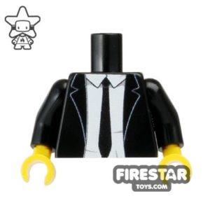 Custom LEGO Minifigures - Suit Torso