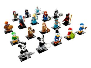 lego disney collectible minifigures