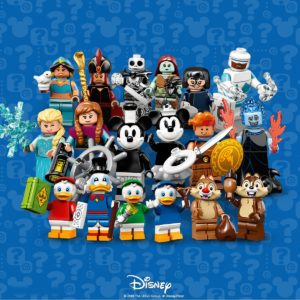 LEGO Disney CMF Series 2 Review: Part 1