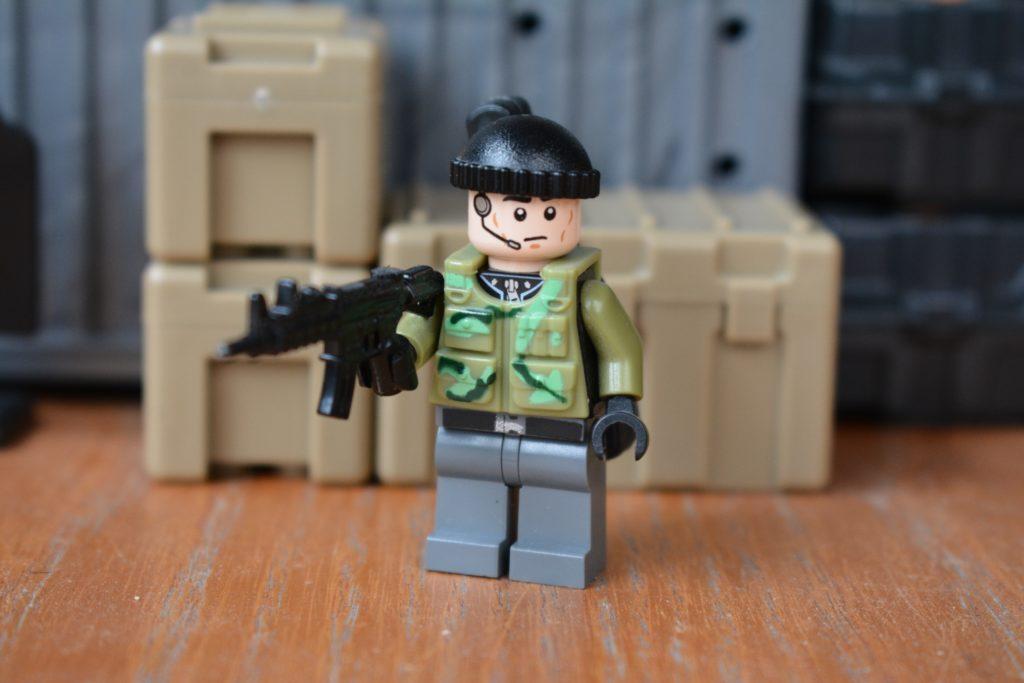 LEGO Mercenary