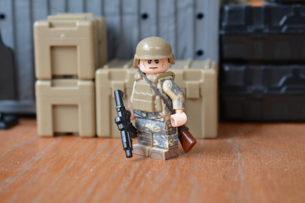 Custom LEGO Army Minifigures - LEGO US Soldier