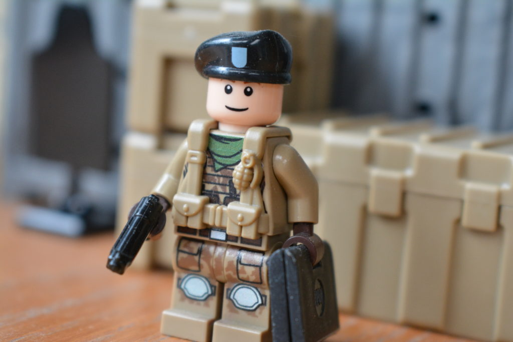 Custom LEGO Army Minifigures - Army General