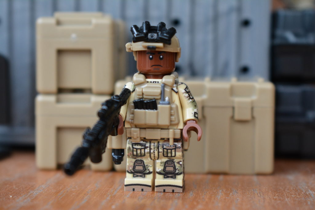 Custom LEGO Army Minifigures - US Navy SEAL