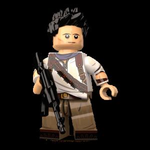Image of Nathan Drake minifigure