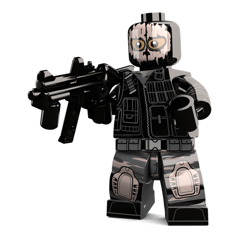 LEGO Video Games - Image of the Ghost Soldier minifigure