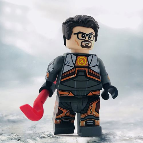 LEGO Video Games- Image of Gordon Freeman minifigure from Half Life