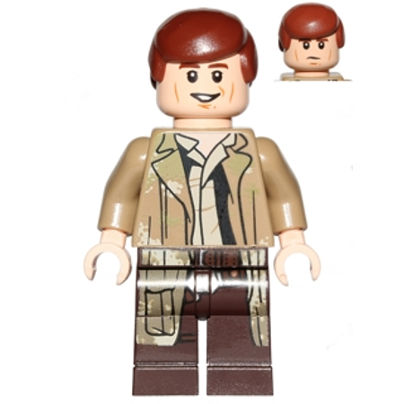 Han Solo in Endor Outfit