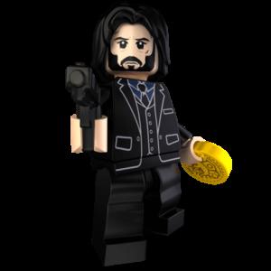 Custom LEGO Minifigures - John Brick