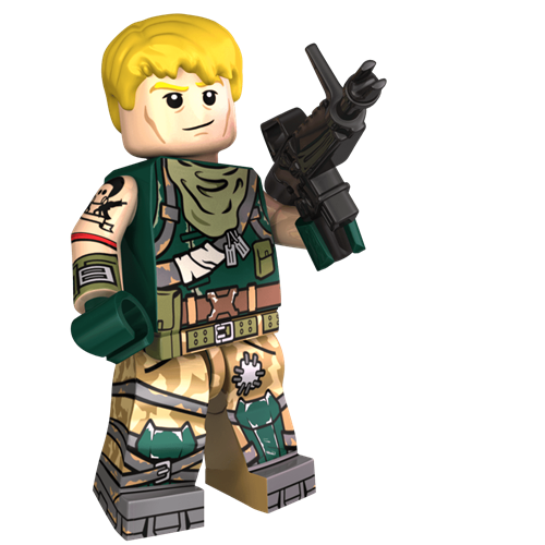 Image of Jonesy Minifigure