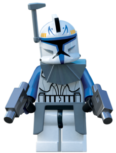 Captain Rex in his Phase I Armour