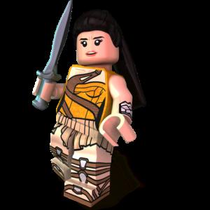 Custom LEGO Minifigures - Amazon Wonder Minifigure