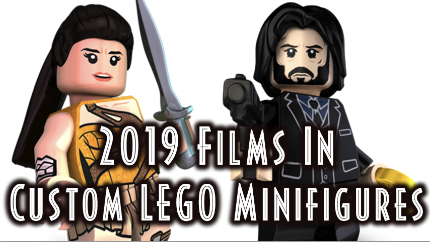 The 2019 Film Calendar – As Told by Custom LEGO Minifigures