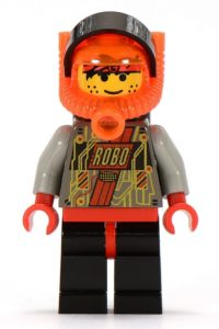 Red RoboForce minifigure