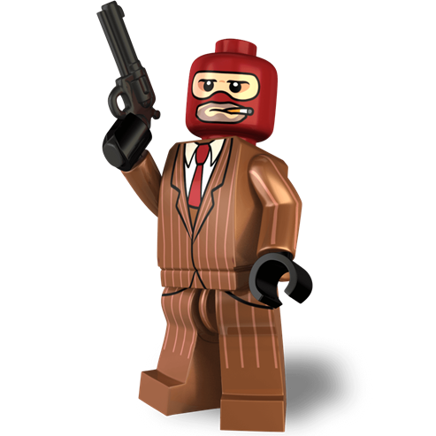 Image of The Spy Minifigure from TF2