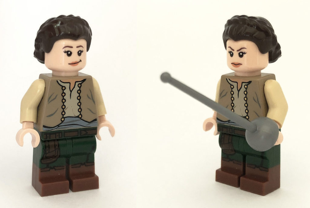 lego game of thrones arya stark