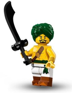 historical minifigures: desert warrior