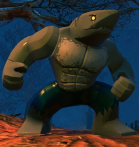 King Shark from LEGO DC Super Villains video game