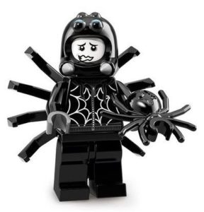 lego spider suit boy and his pet spider