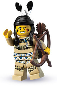 lego tribal hunter
