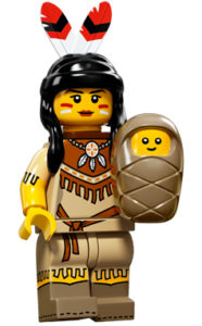 LEGO tribal woman