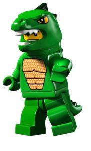 lego godzilla - or lizard man
