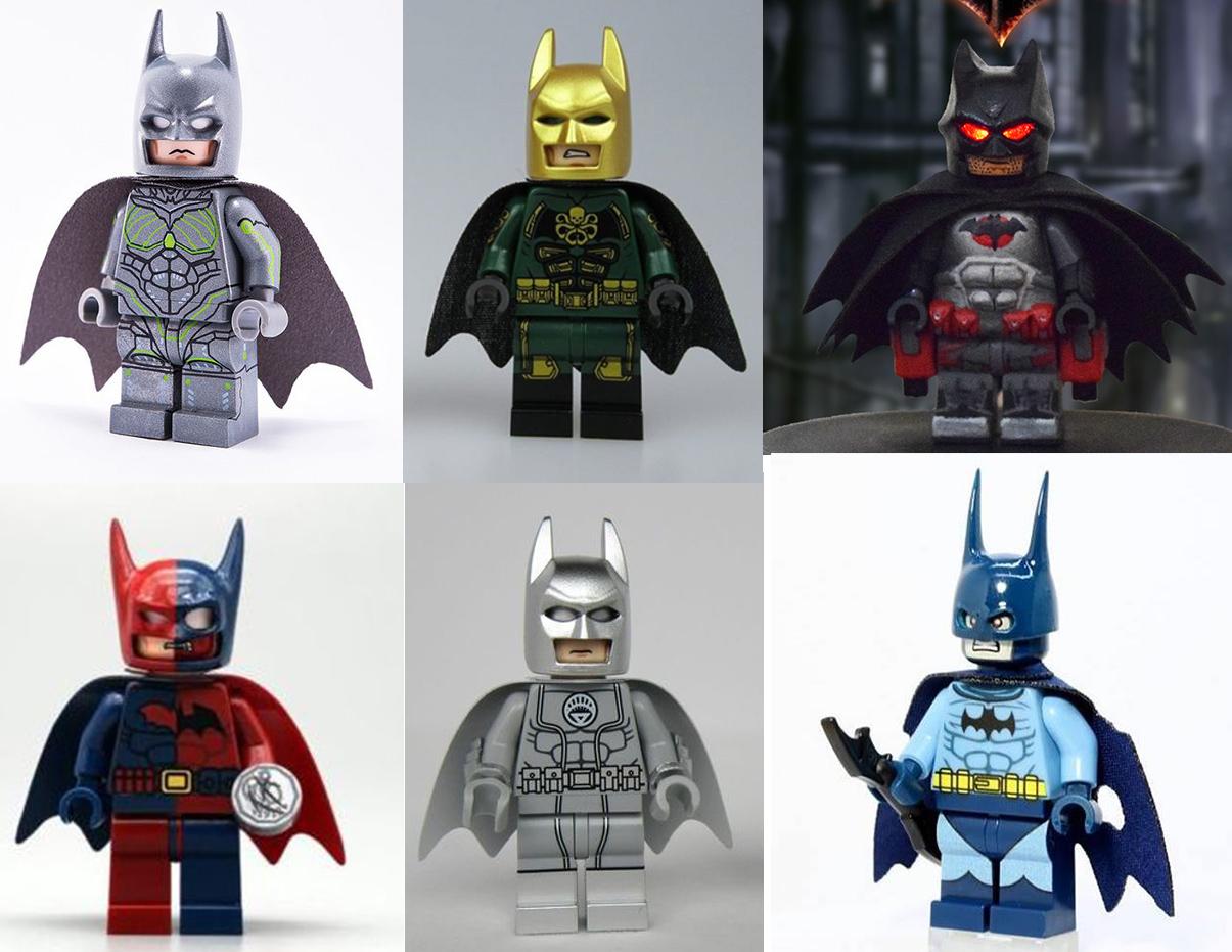 Batman Custom Lego Figure {Brand New}