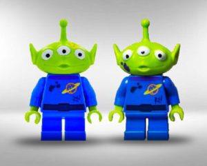 lego toy story aliens