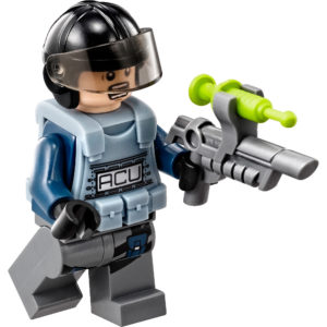 Best LEGO Jurassic World Minifigures - ACU Trooper