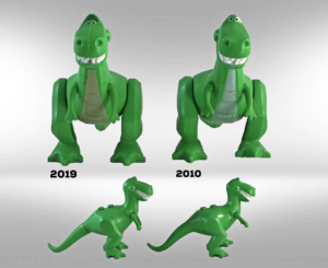 lego toy story rex
