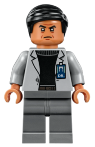 Best LEGO Jurassic World Minifigures - Dr Wu Fallen Kingdom