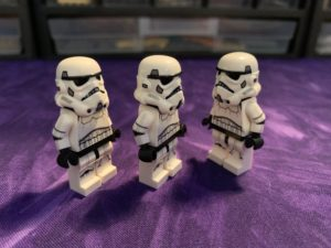 LEGO stormtroopers with custom arms