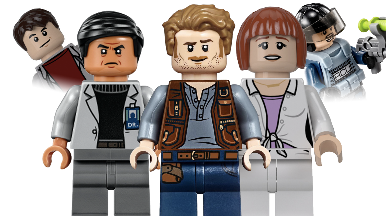 Best LEGO Jurassic World Minifigures - Top Image