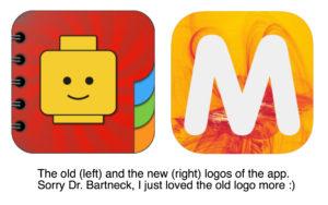 logos of the app