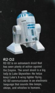star wars figure R2-D2