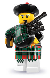 lego music bagpiper