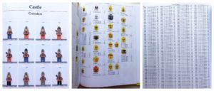 sample pages from the complete lego minifigure catalog