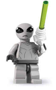 lego classic alien minifigure