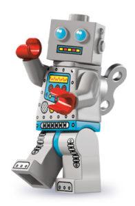 lego robots: clockwork robot