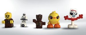 size comparison with small figures and lego toy story 4 characters