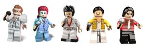 LEGO Music Legends: Elton John, David Bowie, Elvis Presley, Freddie Mercury and Michael Jackson
