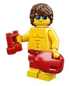summer minifigures lifeguard