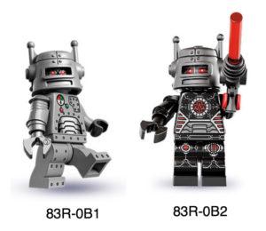 lego good and evil robots