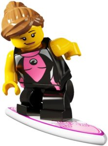 summer minifigures surfer girl
