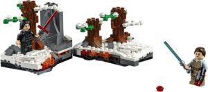 Lego sets for the figures: Starkiller Base Duel for Kylo Ren